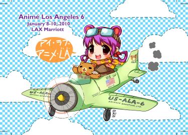 Ala in airplane, by Konoe Suzumiya